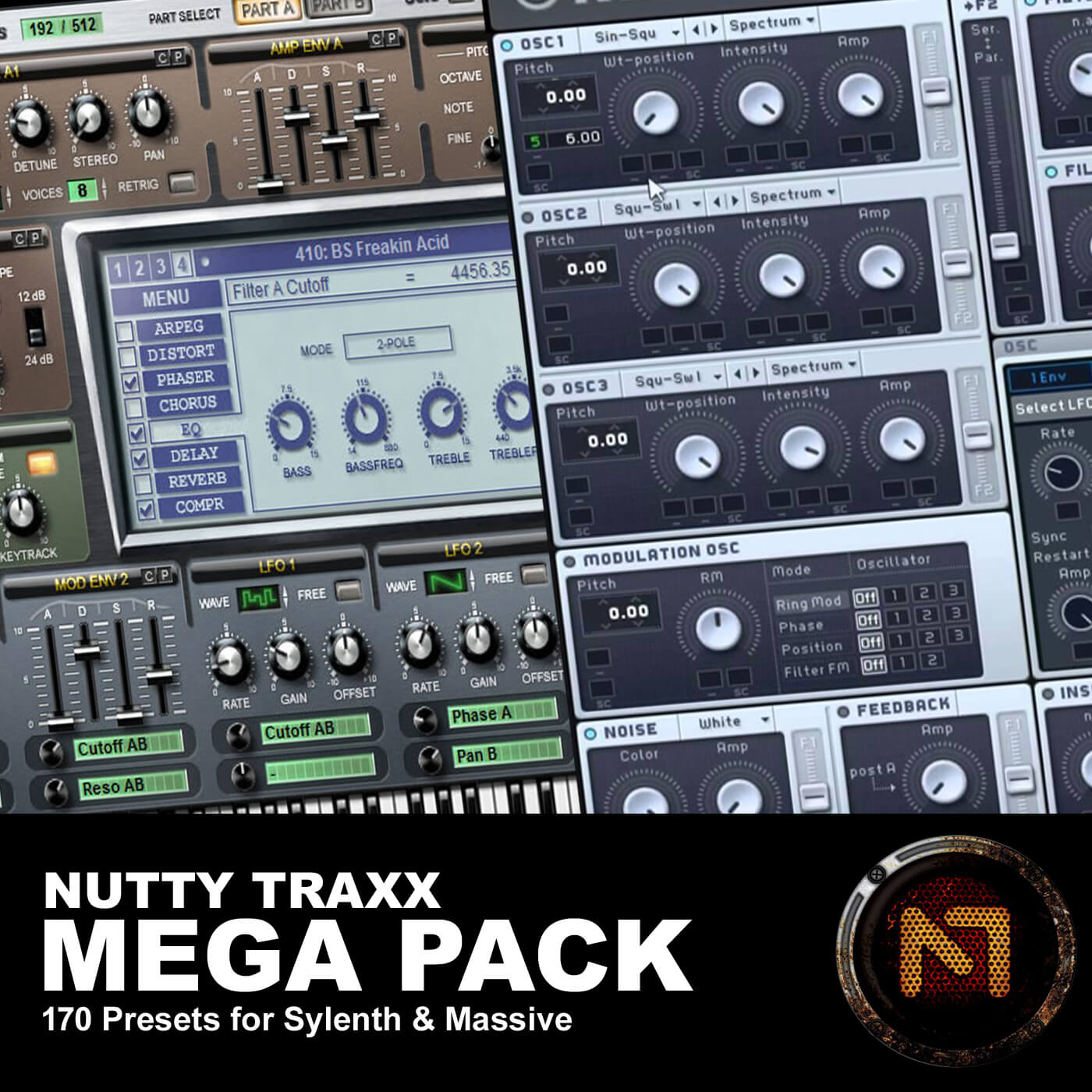 Nutty Traxx Mega Pack - Sylenth & NI Massive