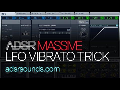 LFO Vibrato Tips and Tricks In Massive