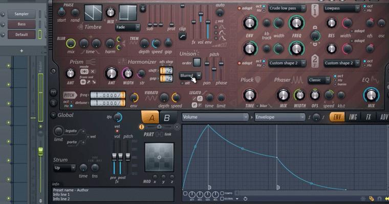 Deep House In FL Studio 12 - ADSR