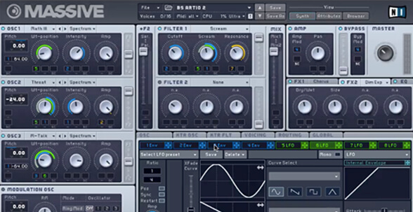 Wavetable Synthesis vs. Subtractive Synthesis - ADSR
