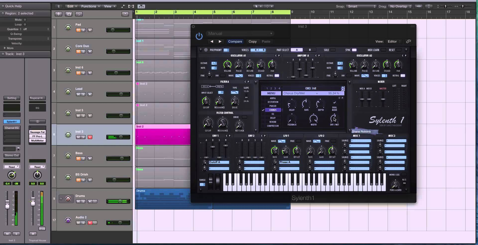 OVO Bell Synth In Sylenth