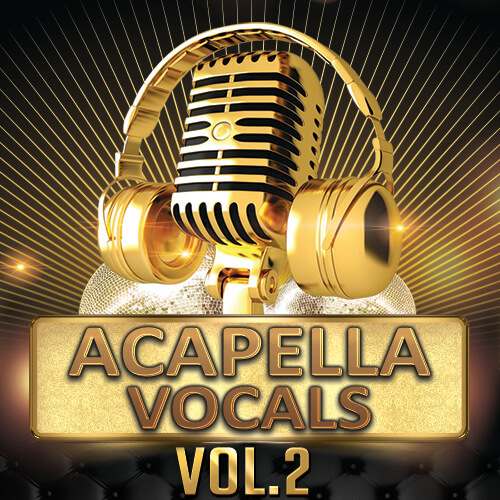 Acapella Vocals Vol.2