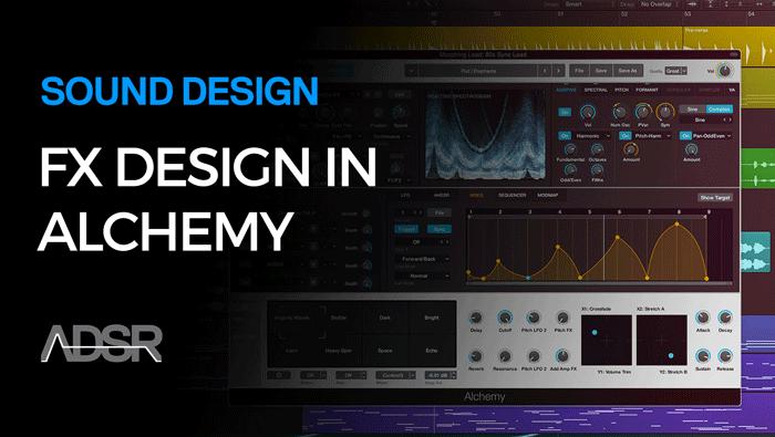 Special FX Sound Design in Logic Pro 10.2 / Alchemy