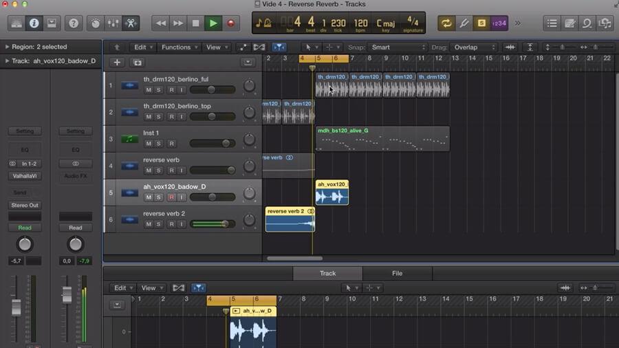 Special FX Sound Design in Logic Pro 10.2 / Alchemy - ADSR