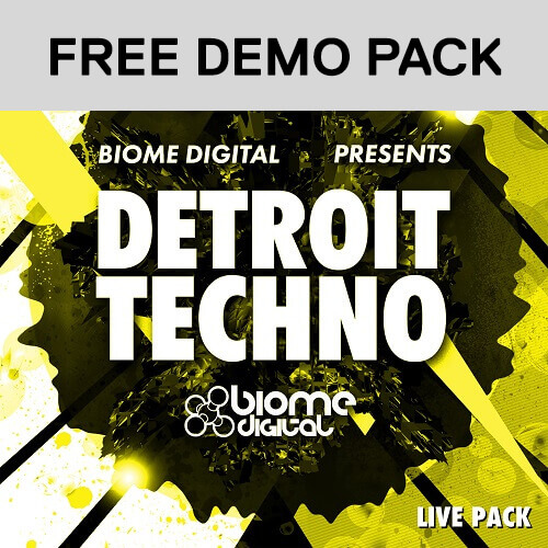 Detroit Techno Construction Kits - Ableton Live Pack - FREE Construction Kits