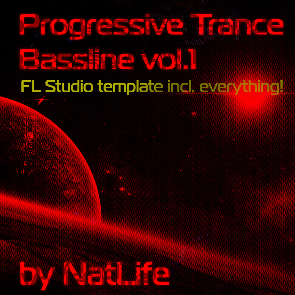 Progressive Trance Bassline Vol.1 (FL Studio 'all in one' template)