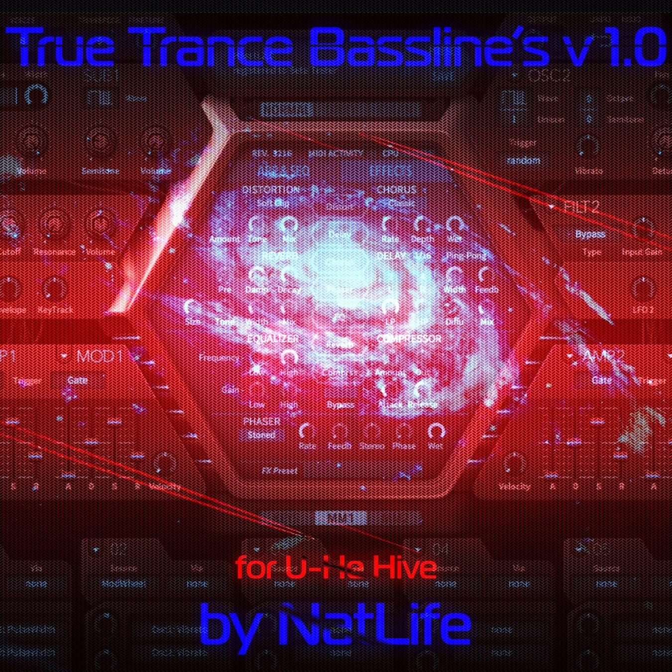 True Trance Basslines vol. 1