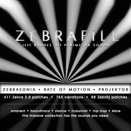 ZebraFill (3 in 1 bundle)