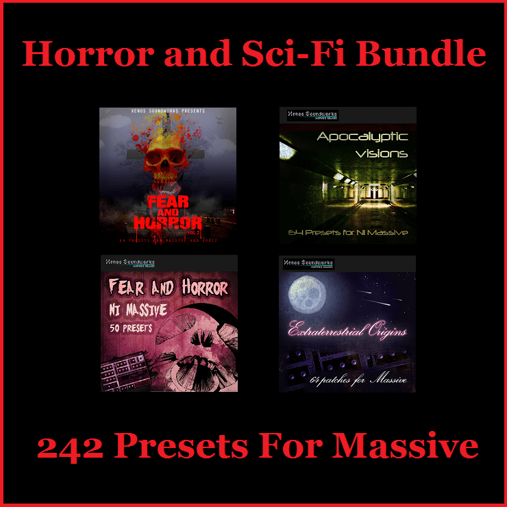 Horror and Sci-Fi Bundle for NI Massive