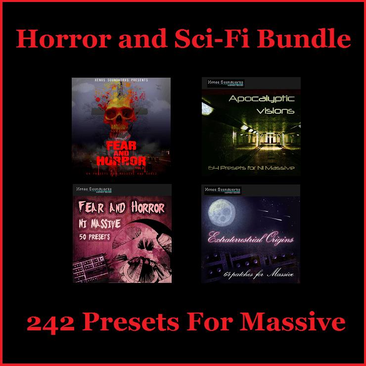 Horror and Sci-Fi Bundle for NI Massive