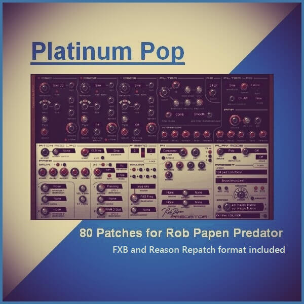 'Platinum Pop' for Predator and Predator Reason RE