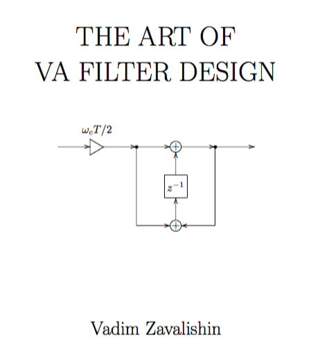 The Art Of VA Filter Design