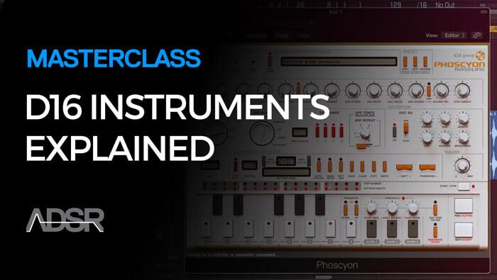 D16 Instruments Explained