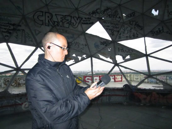 Richard Devine at Teufelsberg