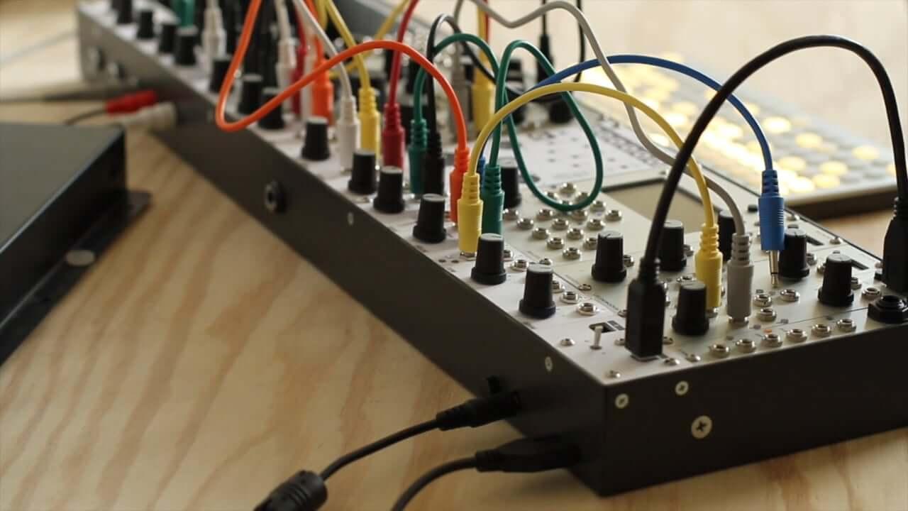 """isms"" Eurorack modular synth case"