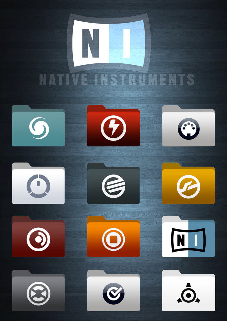 Native Instruments Icons