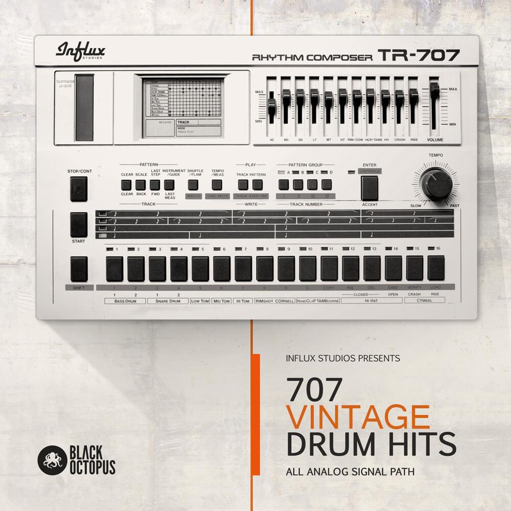 TR-707 Vintage Drum Hits
