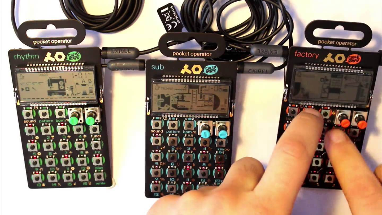 Syncing Pocket Operators