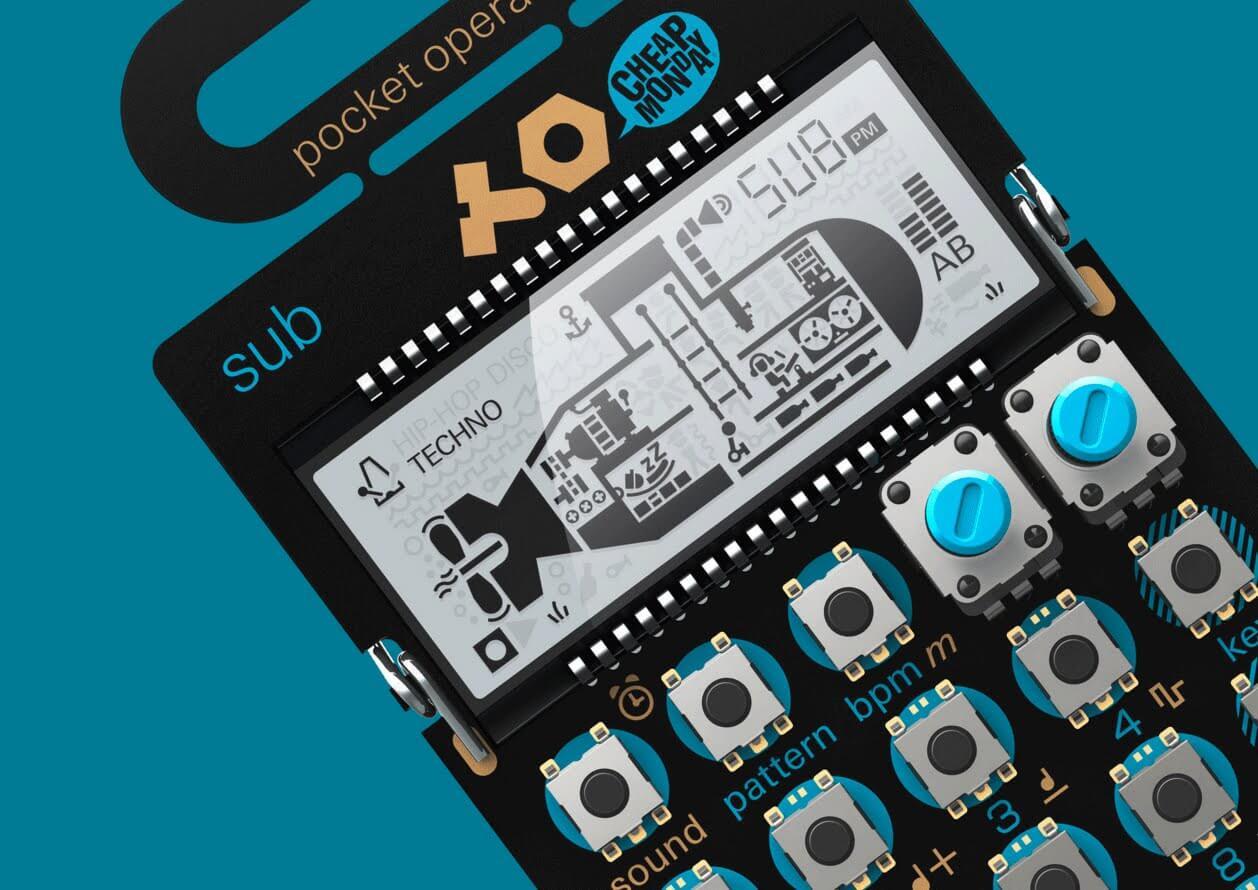 Teenage Engineering PO-14 Sub Features