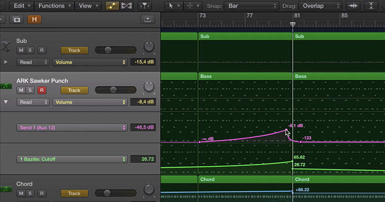 Automation with Logic Pro X