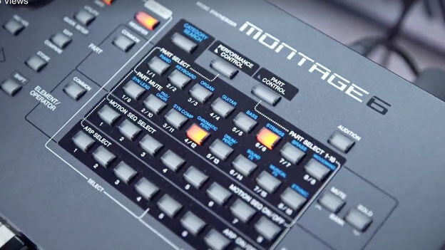 Yamaha launch the new Montage 6 Synth
