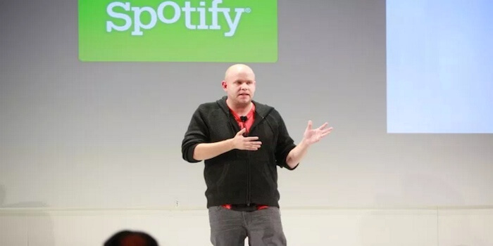 "Spotify CEO: ""Without Us, The Music Industry Would Be Dead"""
