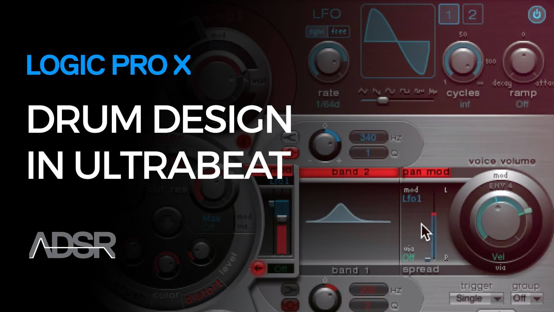 Drum Sound Design with Ultrabeat in Logic Pro X
