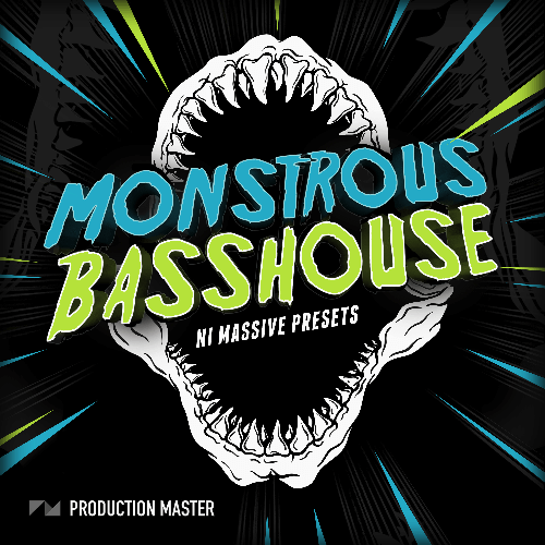Monstrous Bass House NI Massive Presets