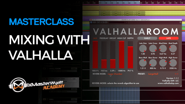 Mixing with Valhalla Reverb