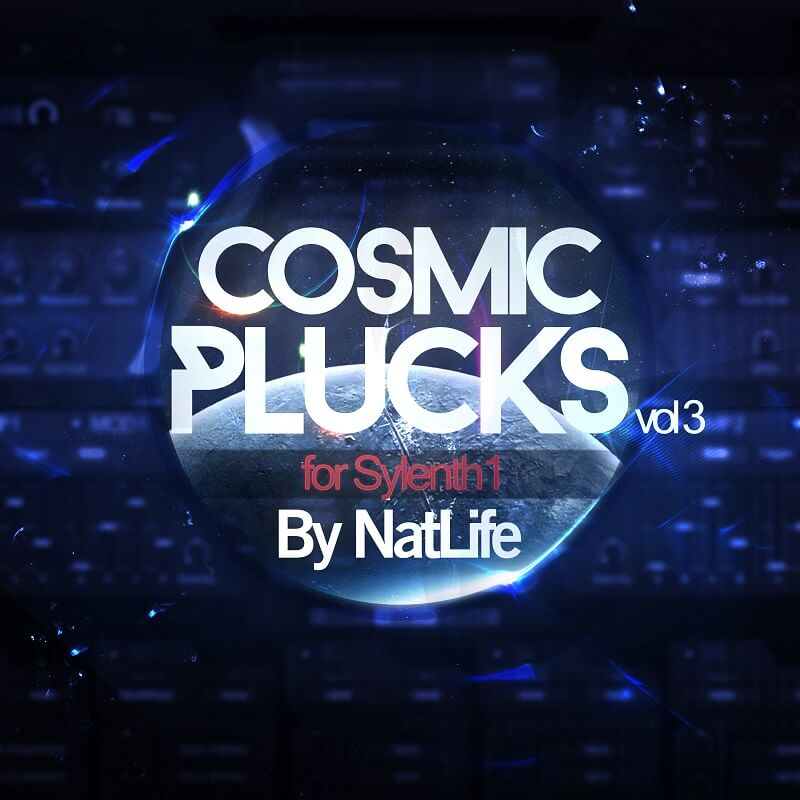 Cosmic Plucks vol. 3 for Sylenth1