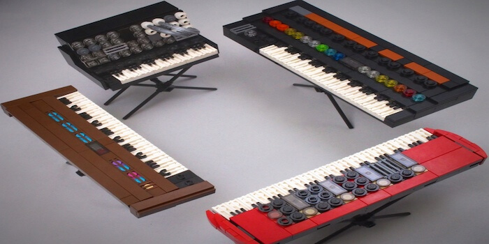 Lego-Modeled Synthesizers