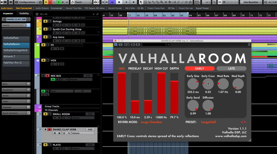 Mixing with Valhalla Reverb - ADSR