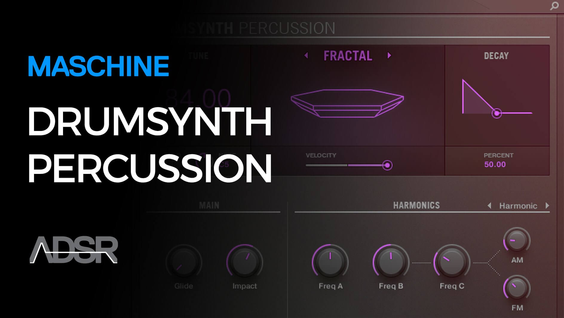 Percussion - Working with Maschine Drumsynth