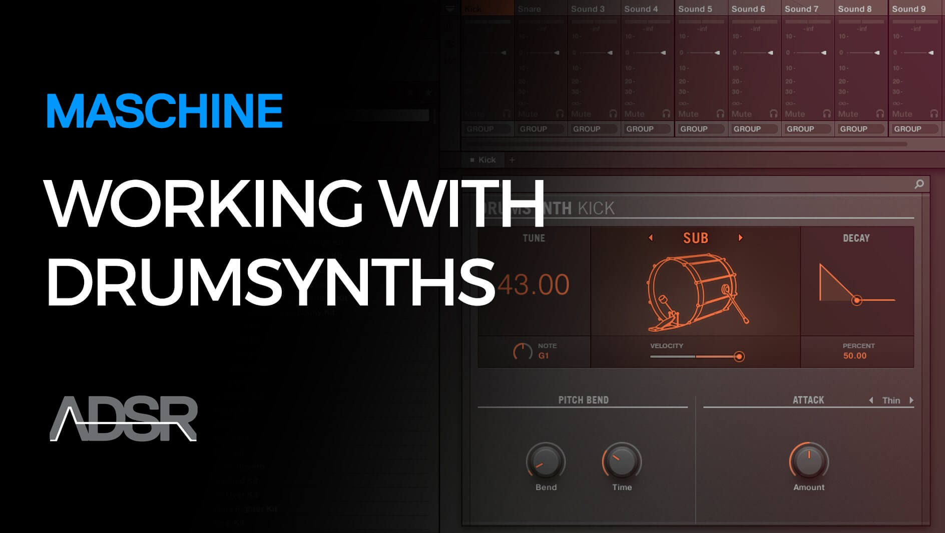 Working with Drumsynth in Maschine Part 1