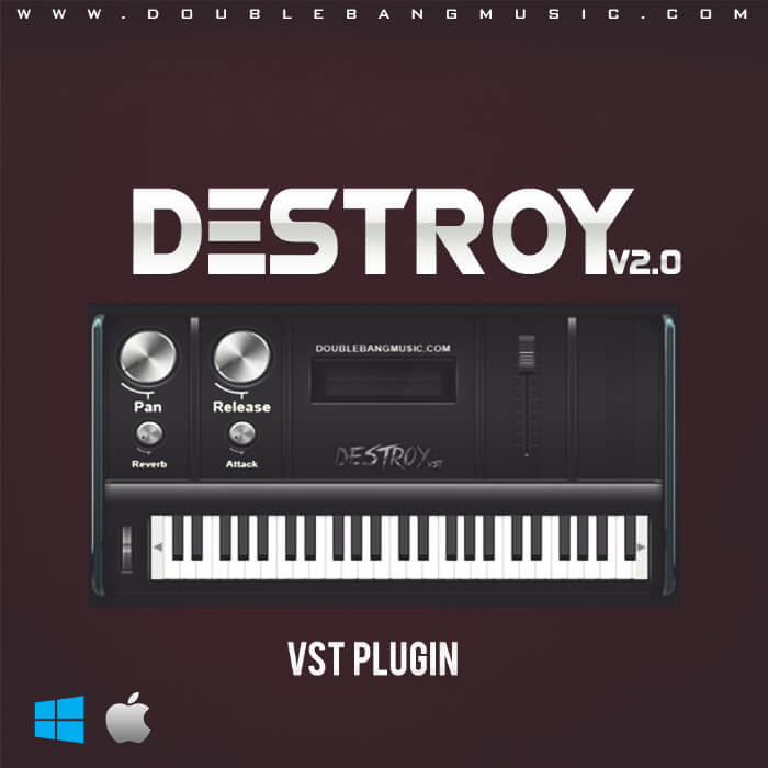 Destroy V2.0 VST (MAC OSx, AU)