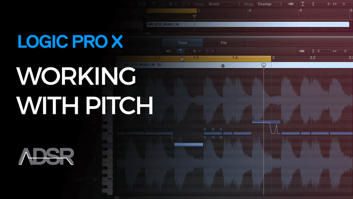 Working with Pitch in Logic Pro X