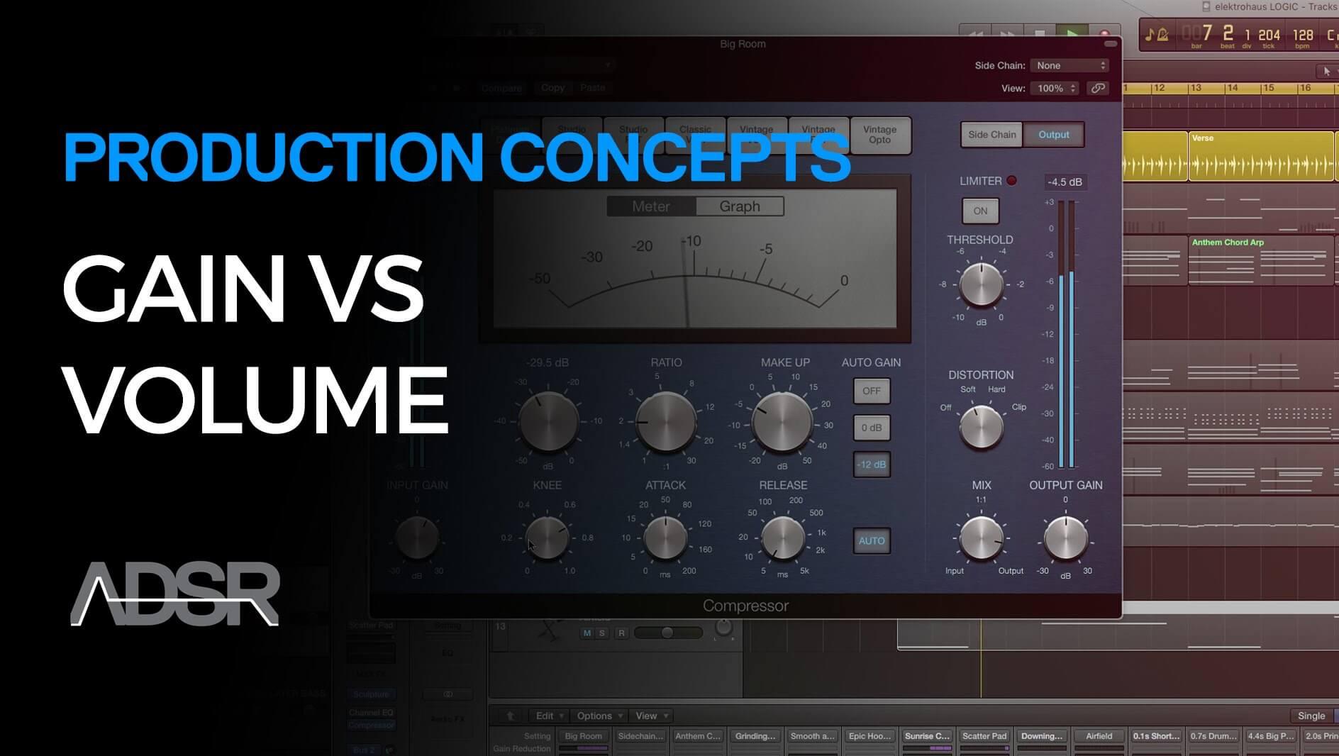 Gain vs Volume - Production Concepts