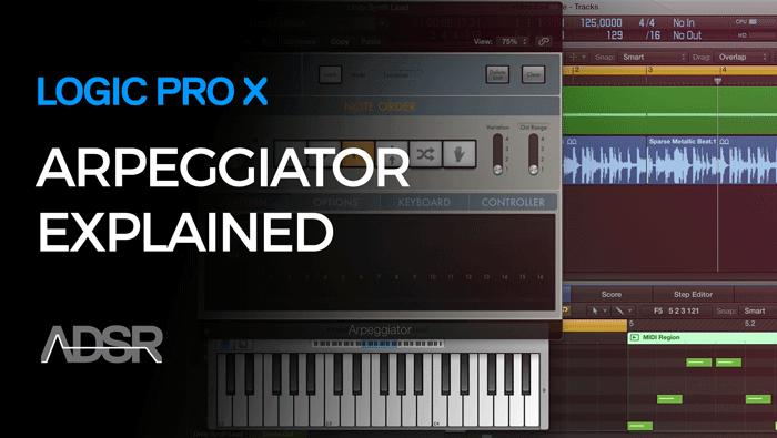 Logic Pro X Arpeggiator Workflows
