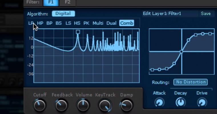 synthmaster-filter-types