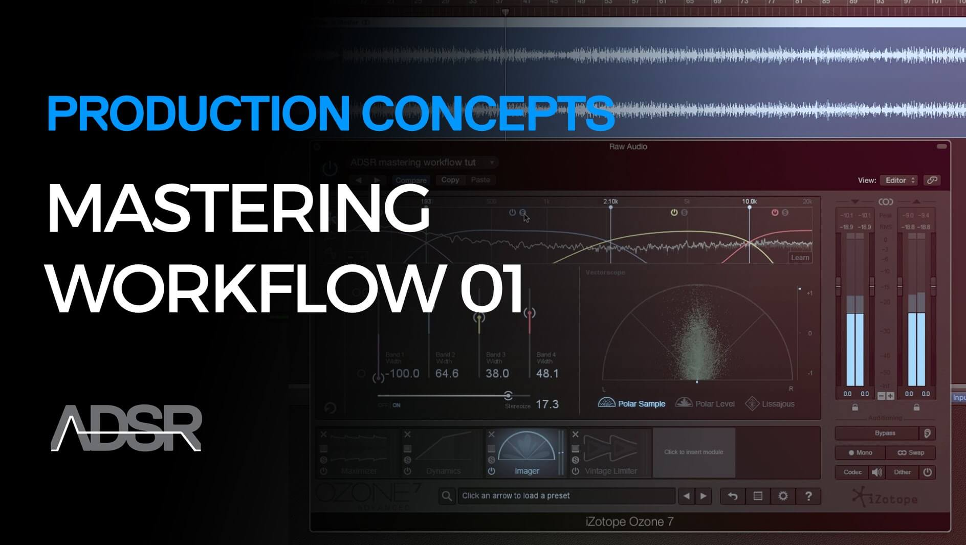 The Mastering Workflow - Part 01