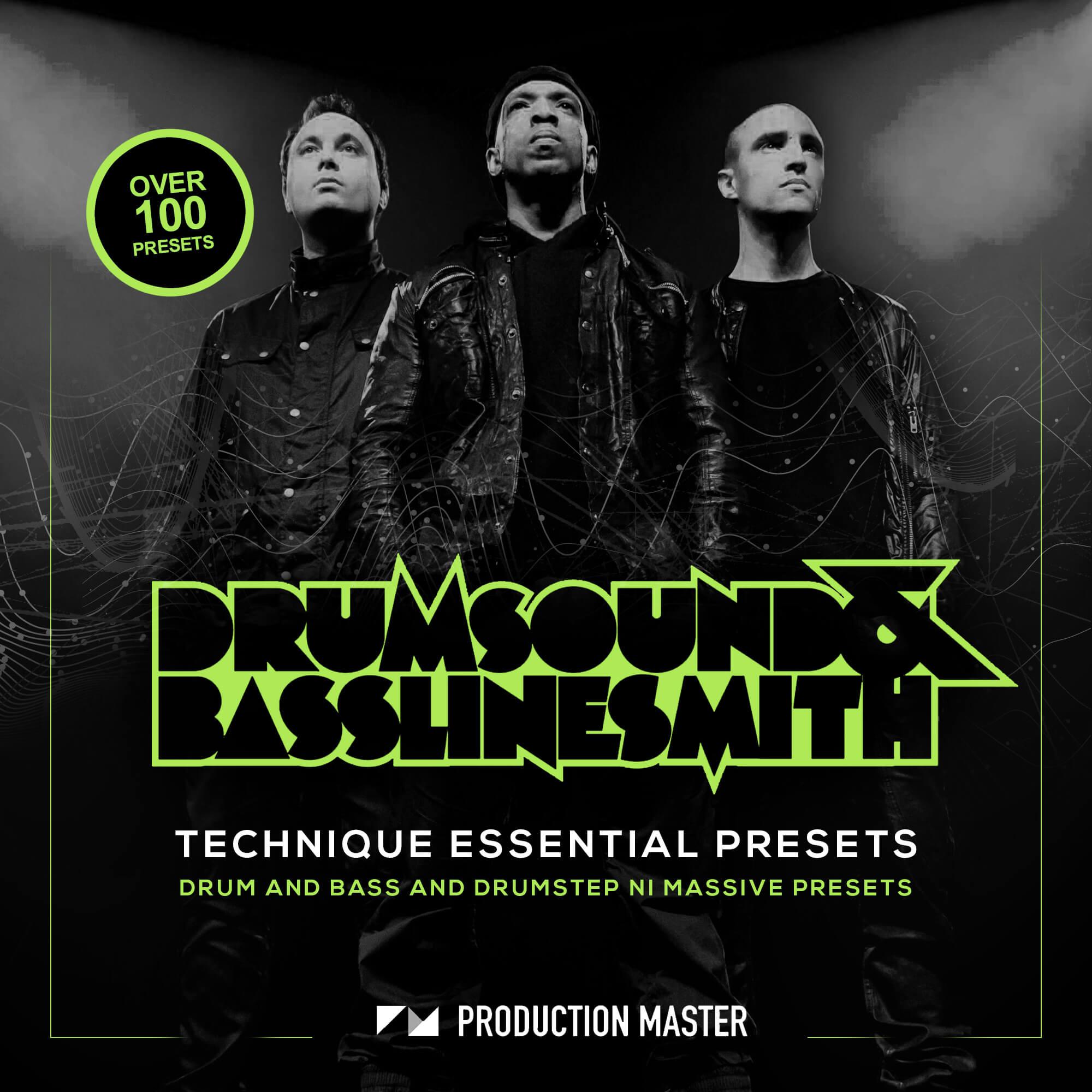 Drumsound and Bassline Smith Technique Essential Presets