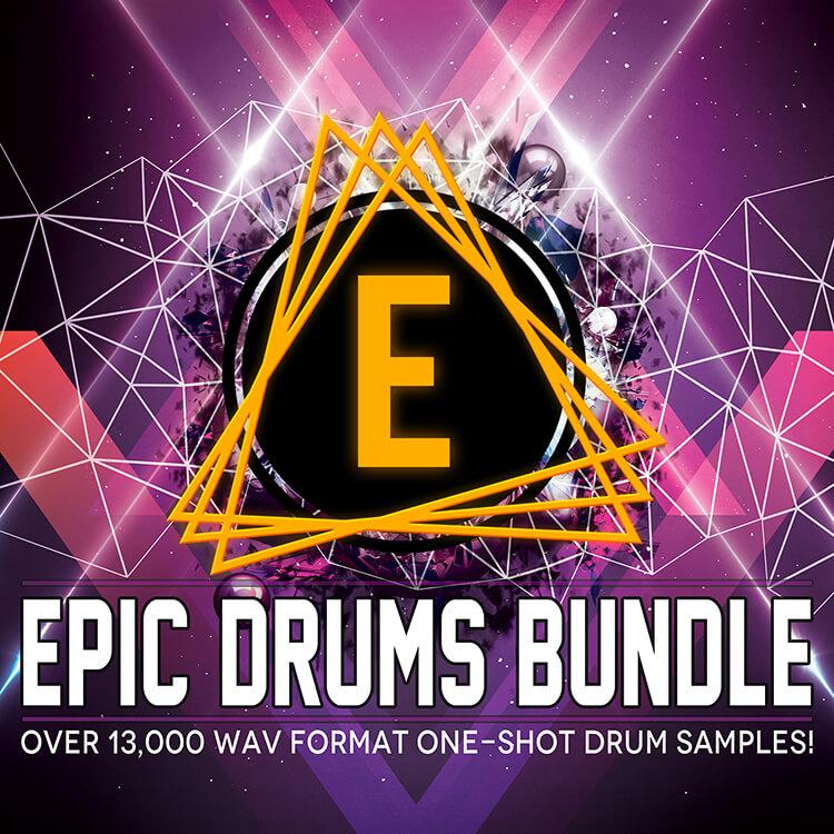 Epic Drums Bundle (13,000+ WAV Drum Shots!)