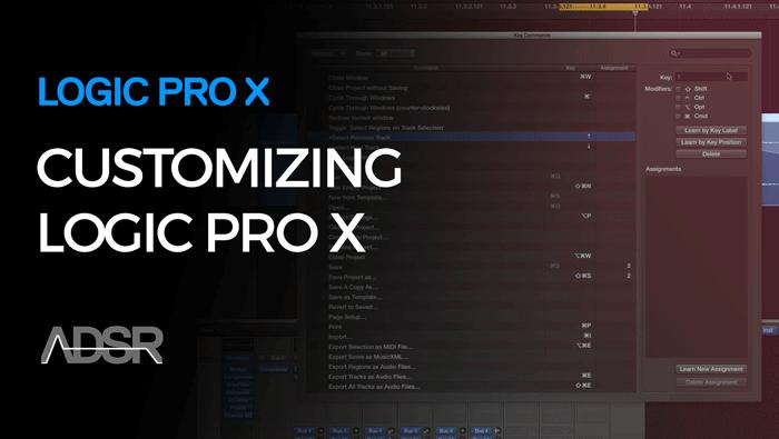 Customizing Logic Pro X