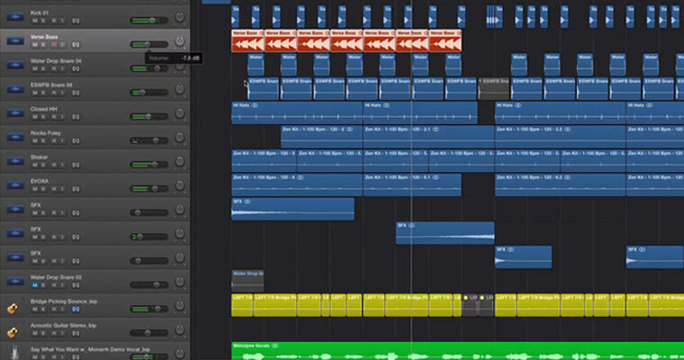 making-a-loud-track