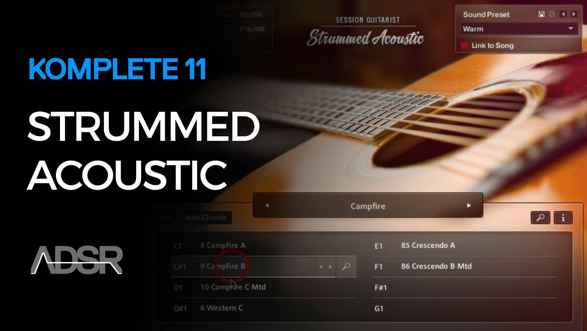 Strummed Acoustic - Komplete 11