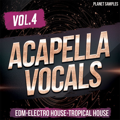 Acapella Vocals Vol 4