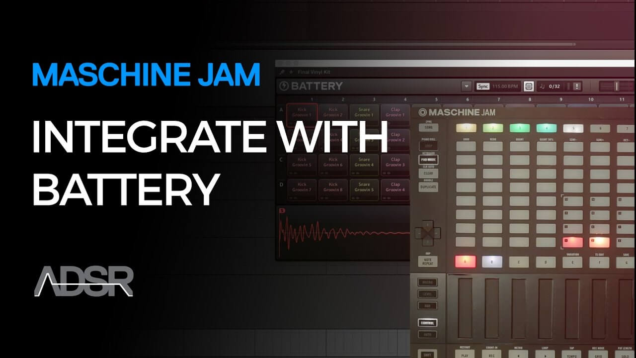Maschine Jam & Komplete Integrations - Battery - 01