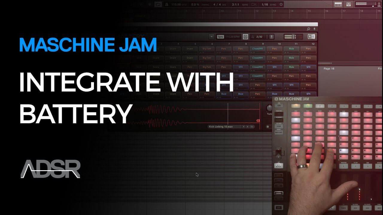 Maschine Jam & Komplete Integrations - Battery - 02