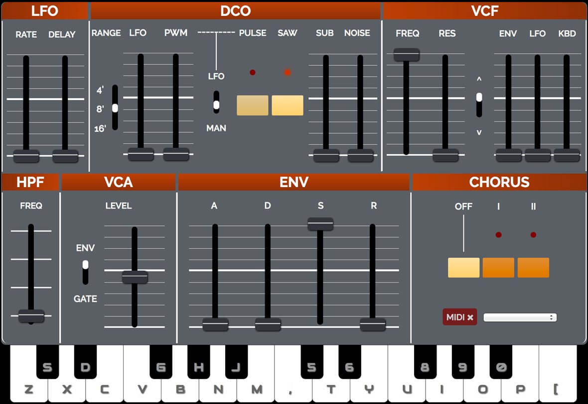 Play The Juno 106 In Your Browser