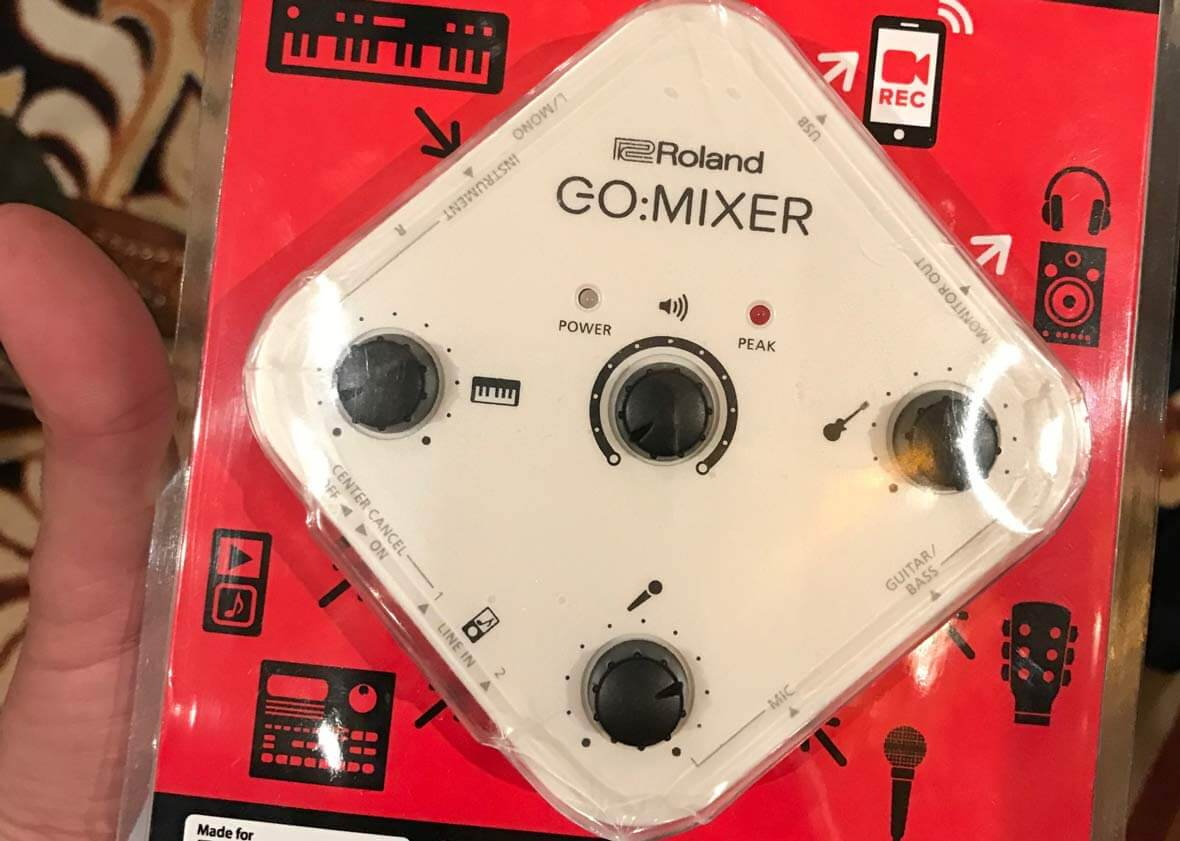 Roland's Go:Mixer Redefines Cell Phone Recording